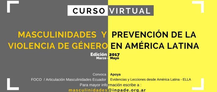 Curso Virtual Masculinidades y Prevención…